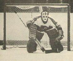 Bernie Parent Hockey Goalie, Hockey Teams, Ice Hockey, Bernie Parent, Goalie Mask, Cool Masks, Vancouver Canucks, Philadelphia Flyers, My Themes