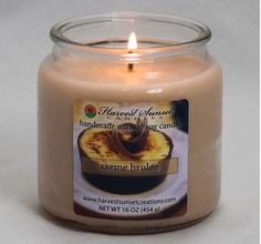 Before the start of the hectic (but worth it) holiday season, take a breather with the calming aroma of #CremeBrulee :)