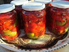 CAIETUL CU RETETE: Gogosari dulci acrisori Canning Recipes, Preserves, Mason Jars, Food And Drink, Cooking, House, Ideas, Legumes, Vegetables