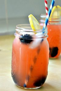 basil lemonade, raspberry lemonade, Blackberry lemonade