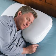 The Side Sleeper's Adjustable Pillow - Hammacher Schlemmer  I need this now...