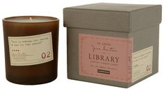 For all the bibliophiles in our lives, Paddywax presents the Library Collection. This candle pairs a quote from Jane Austen with an exquisite fragrance. Impeccably...