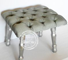 Vanity Stool Fancy Bench Bedroom Bench By RSmithDesignsStudio