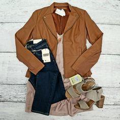 We love the NEW Kurvy Jeans & Jacket from KUT!   www.BlushBoutiqueKS.com  Top: https://blushboutiqueks.com/collections/womens-dresses/products/blush-satin-cami-dress?utm_content=bufferee8d5&utm_medium=social&utm_source=pinterest.com&utm_campaign=buffer Jacket: https://blushboutiqueks.com/collections/womens-tops/products/camel-colored-jacket?utm_content=bufferd690a&utm_medium=social&utm_source=pinterest.com&utm_campaign=buffer Shoes…