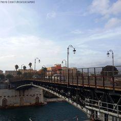 In giro con PoliSviluppo alla scoperta della città di Taranto - Ponte di Porta Napoli nel Taranto, Puglia #aroundcasaisabella