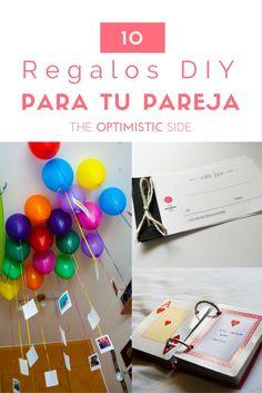 Listado de 10 regalos DIY fáciles y originales para tu pareja, novio, novia en una ocasión especial como San Valentín o vuestro aniversario. - The Optimistic Side