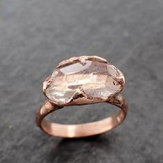 Diamond Wedding Rings, Gold Wedding, Diamond Rings, Minerals And Gemstones, Crystals Minerals, Yellow Gold Rings, Rose Gold, Delicate Rings, Moonstone Ring