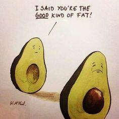 Fat avocado