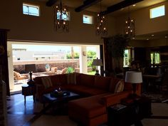 Living Room, Revelle, Rancho Mirage