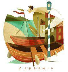 Calendario Cassa Rurale dell'Alto Garda by Riccardo Guasco  http://on.be.net/1eQk8J5