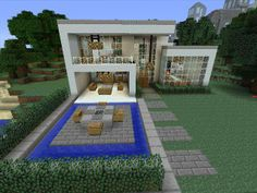 #Minecraft #gaming #xbox #xbox360 #house #home #creative #mode #mojang castle, OTT went crazy on this house