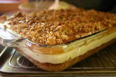 recipes carmel apple cheesecake bars