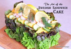 Brown Paper Packages: The Art of the Swedish Sandwich {Cake}