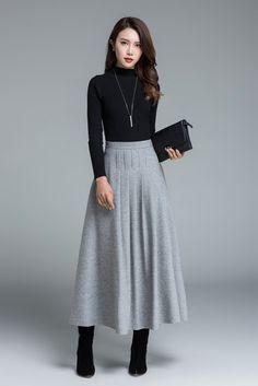 50+ Faldas tendencia para este invierno