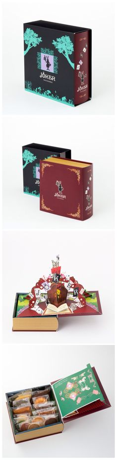 Brilliantly beautiful #packaging from Patisserie Joker, Japan with no source link unfortunately. PD