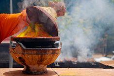 Moroccan Tajine on a Charcoal Brazier (Majmar) Photo by Jonny Sage