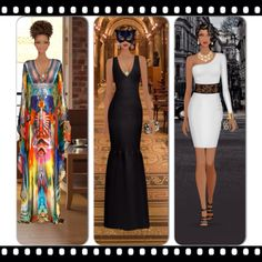 Some of my wins from Covet Fashion