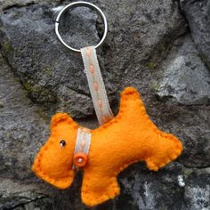 Scottie Dog keyring £2.50