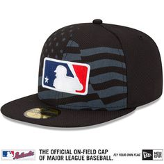 newest 30044 b05ea MLB Umpire s 2015 Authentic Collection Stars  amp  Stripes Diamond Era  59FIFTY On-Field Game