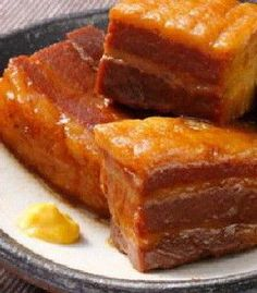 Cooked Cubed Pork - 豚の角煮