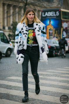 Haute Couture Spring 2017 Street Style: Veronika Heilbrunner
