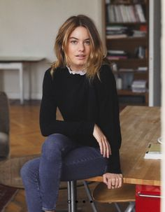 Winter Chic, Autumn Winter Fashion, Looks Style, Style Me, Camille Rowe Style, University Outfit, Student Fashion, French Chic, Parisian Chic