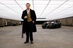 """Batman's Dark Knight """"Bat-Bunker"""" was carefully designed so that director Christopher Nolan, pictured here, could shoot all 360 degrees of the space. Most of the film's sets were built at Pinewood Studios near London."""
