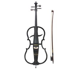 4 Electric Violin Cello With Ebony Fittings