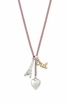 Stella & Dot From Paris With Love Necklace - there's a whole section of buy 2, get one 50% off! This is my favorite, but the lock and key necklace is super cute, too!