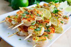 Cilantro Lime Grilled Shrimp Recipe