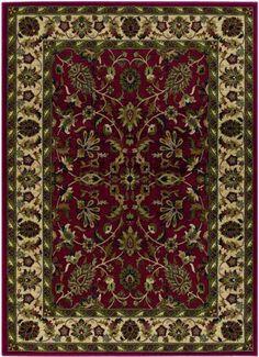 Anatolia 20560010098131T Red/Cream by Couristan Rugs. $503.64. Anatolia 20560010098131T Red/Cream
