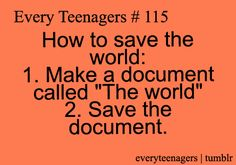 Don't forget to save the world @Maximum Ride its ur destiny... Lol the voice comes back