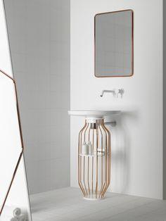 """Bowl"": new bathroom collection design by Arik Levy for Inbani"