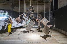 "Venice Biennale 2016 Winners: Spain, Japan, Peru, NLÉ & Gabinete de Arquitectura,""OUR AMAZON FRONTLINE"" / curated by Sandra Barclay and Jean Pierre Crousse. Peruvian Pavilion at the 2016 Venice Biennale. Image © Laurian Ghinitoiu"