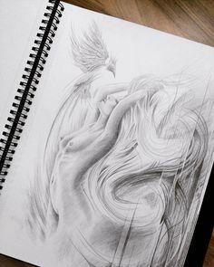 Nackte Frau Art Sketches, Art Drawings, Line Doodles, Life Drawing, Greek Mythology, Art Inspo, Body Art, Tattoos, Creative