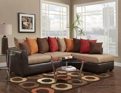 Add modern comfort and style to your home with the Chelsea Home Corianne 2 Piece Sectional . Plush and comfortable, this gorgeous sectional features. Sectional Sofa Sale, Brown Sectional, Interior Design Living Room, Living Room Designs, Living Room Furniture, Living Room Decor, Living Room Color Schemes, Room Colors, Decoration