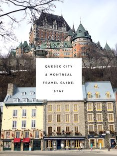 Where to Stay in Quebec City and Montreal – Haute Homebody Montreal Travel, Old Montreal, Old Quebec, Quebec City, Canada Travel, Canada Trip, Travel Snacks, Worldwide Travel, Staycation