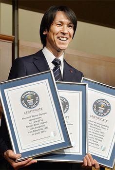 Skoczek narciarski Noriaki Kasai otrzymał 5 rekordów Guinnessa za niezwykłe osiągnięcia. W tym jeden za... zaawansowany jak na skoczka wiek :) #NoriakiKasai #SkokiNarciarskie #RekordGuinnessa