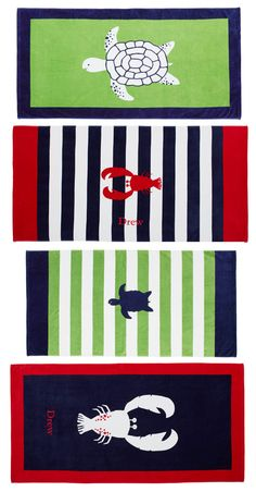 Beach Towels by Pottery Barn Kids