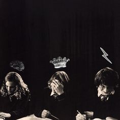 the brightest witch of her age; the king; the chosen one. golden trio <3