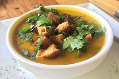 carrot and sweet potato soup  - Costa Rica