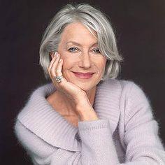 Haircuts for Older Women - Helen Mirren Hair | Makeup Tutorials http://makeuptutorials.com/15-haircuts-for-older-women-ideas-and-tips