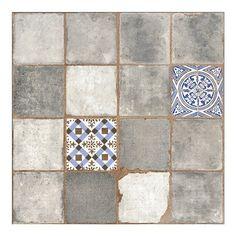 Egen Terakota Antic gris 45 cm x 45 cm mat kupuj w OBI Tile Floor, Tiles, Flooring, Texture, Crafts, Utca, Vintage, Home Decor, Interiors