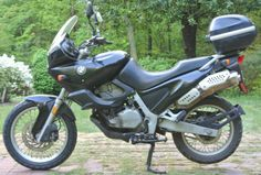 liking this ... 97 BMW F650 Happy Trails, Motorcycles, Bike, Vehicles, Board, Bmw Motorrad, Bicycle, Bicycles, Car