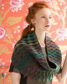 Reversible Cowl | NoroMag-5 Silk Garden Lite and Silk Garden Solo