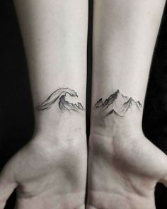 30 Epic Mountain Tattoo Ideas #mens_tattoo_mountains