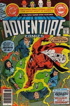 Adventure Comics #464 - The Day Up Was Down August 1979 An Australian reprint comic.