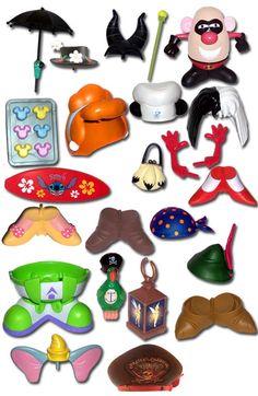 Disney accessories for potato head