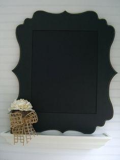 hobby lobby framed chalkboard for command center