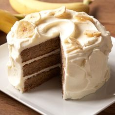 Perfect Endings Vintage™ Banana Layer Cake | Williams-Sonoma
